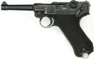 Luger-1809 parabellum p08