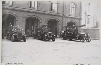 kuva 3 a palokunta lähtövalmiina Pietinen 1932, Museovirasto
